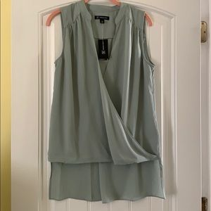NWT- INC High Low Blouse